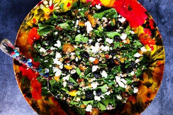 Tasty Layered Harvest Quinoa Salad