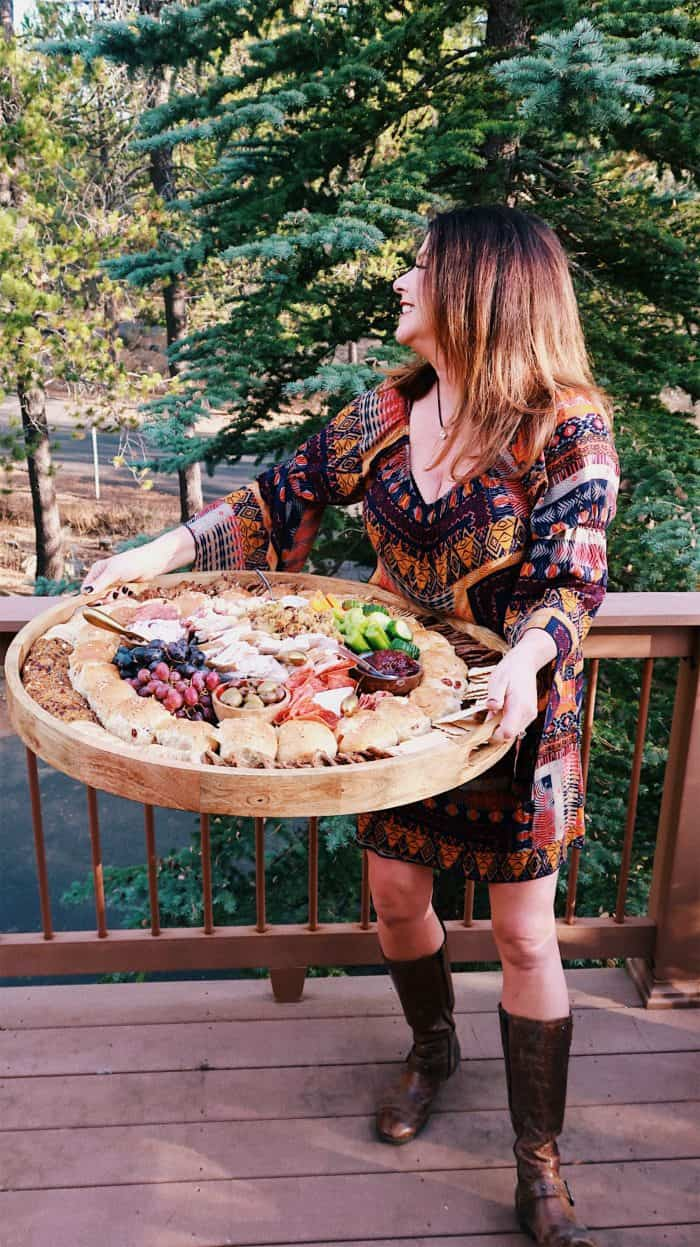 The BEST Leftover Thanksgiving Epic Charcuterie Board