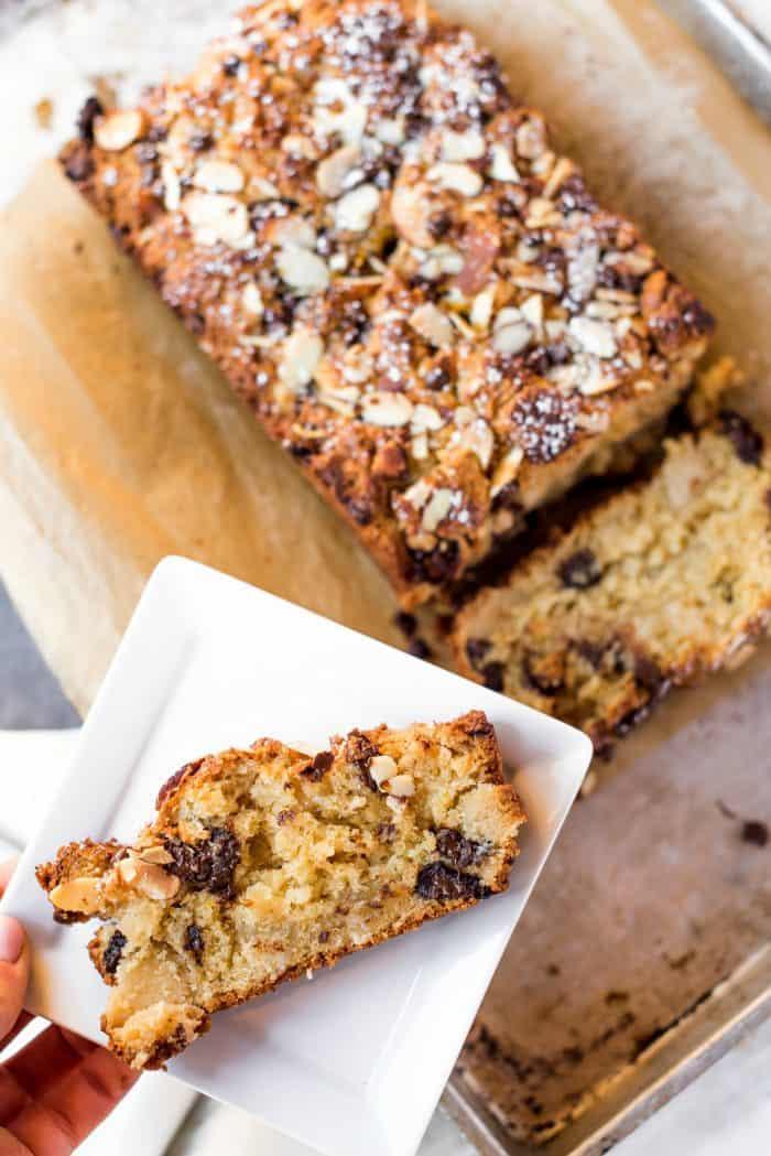 BITE - Orange Almond Scone Loaf Bread