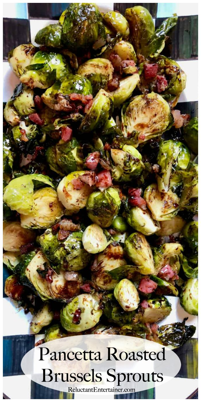 Pancetta Roasted Brussels Sprouts Recipe