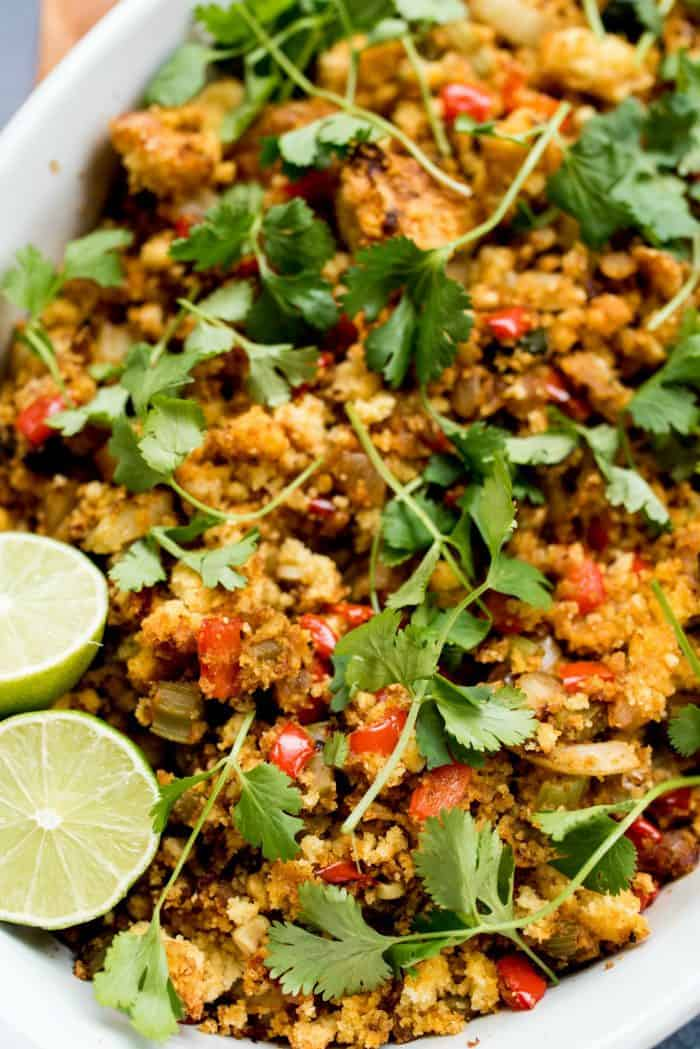 Easy Vegetarian Mexican Stuffing Recipe