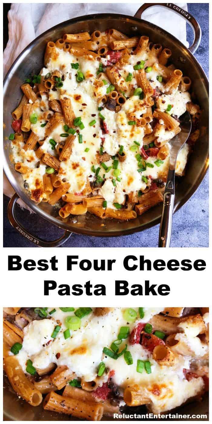 Best Four Cheese Pasta Bake Recipe