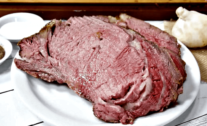 Favorite 3 Holiday Main Dishes - Crusted Pepper Prime Rib Recipe