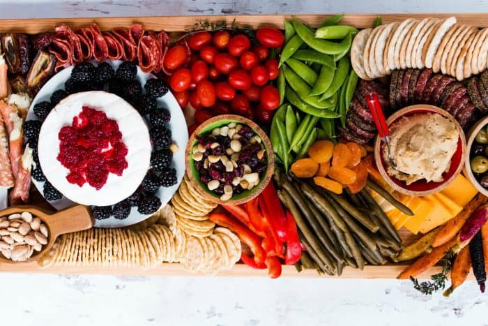 party Epic Rectangular Charcuterie Board