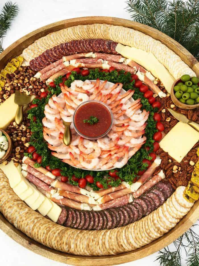 Best Epic Shrimp Cocktail Charcuterie Board