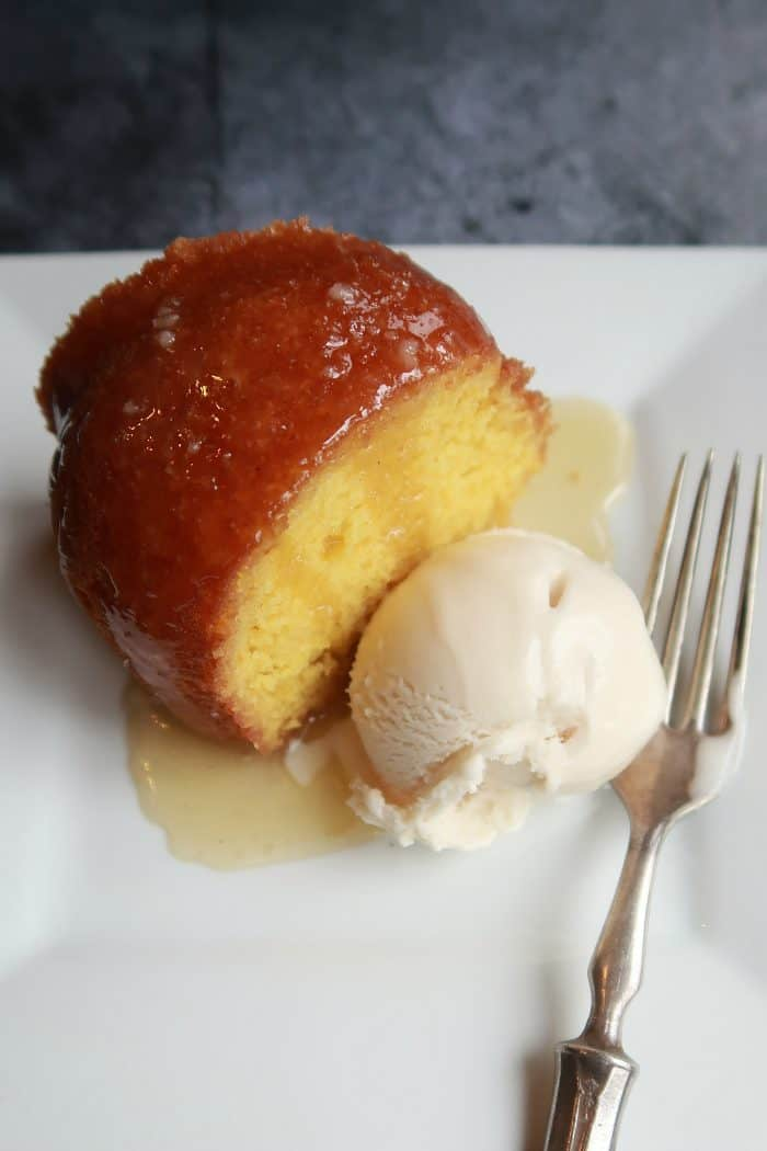 EASY Holiday Rum Bundt Cake Recipe - no nuts