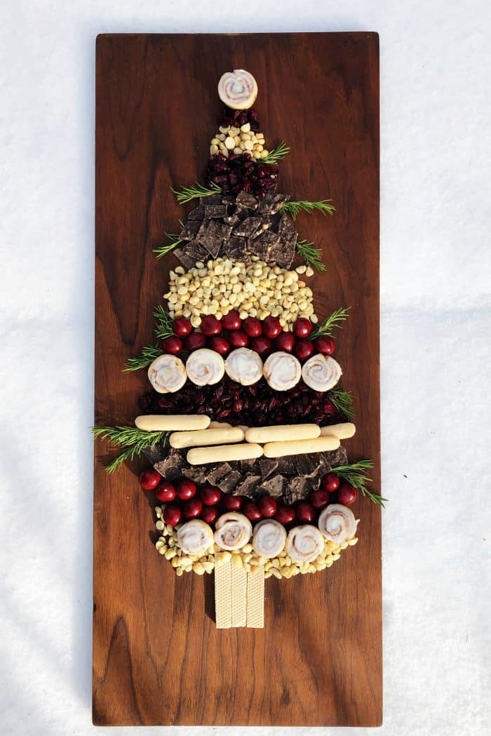Making a Christmas Tree with Holiday Sweets - HOW TO