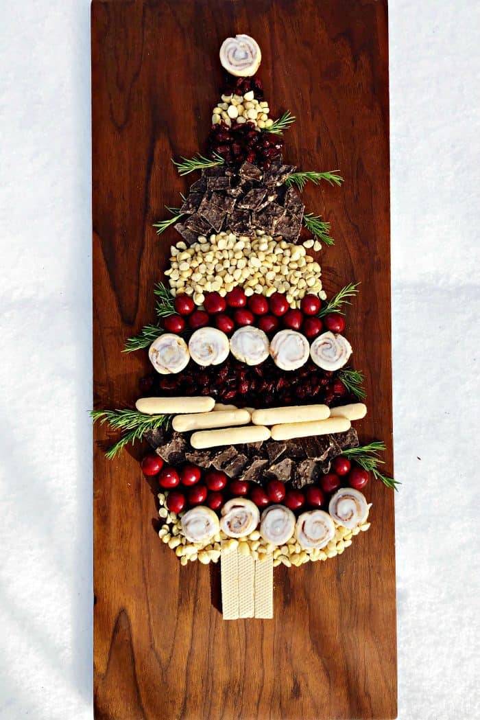 How to: Making a Christmas Tree with Holiday Sweets