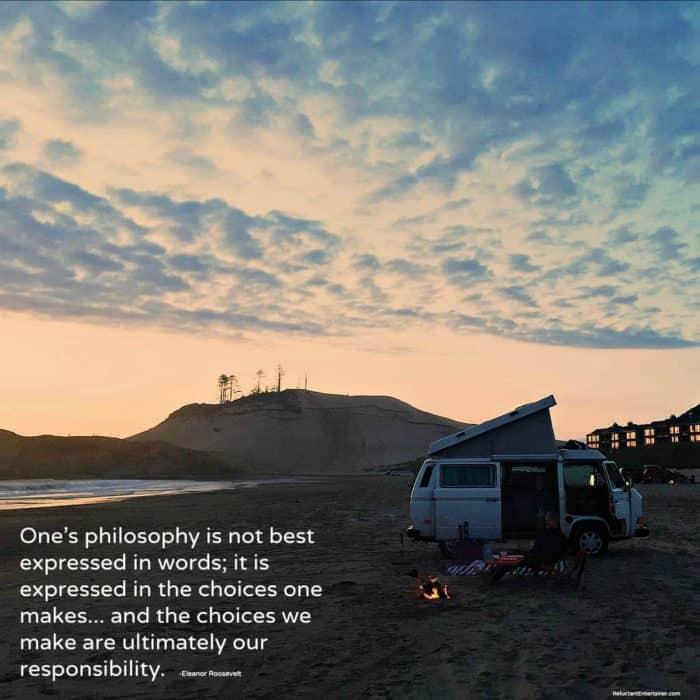 VW Westfalia Philosophy