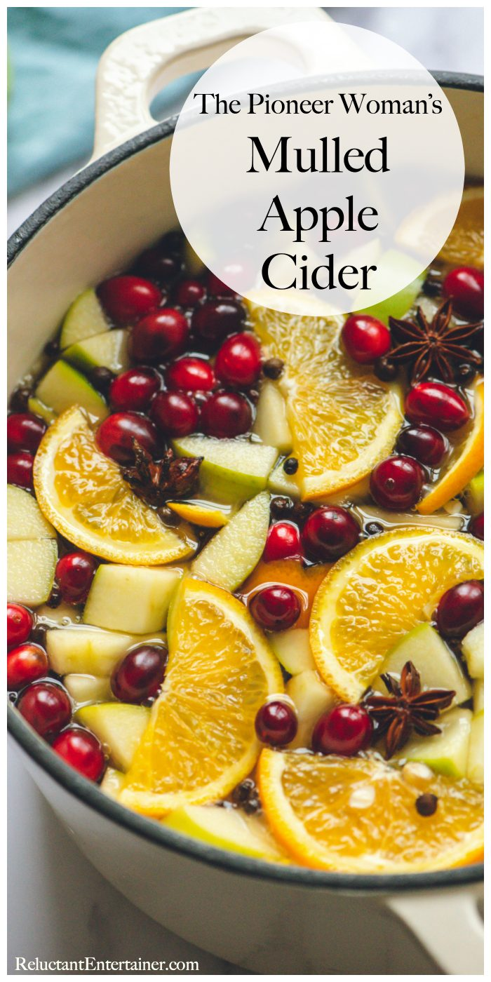 The Pioneer Woman's Mulled Apple Cider