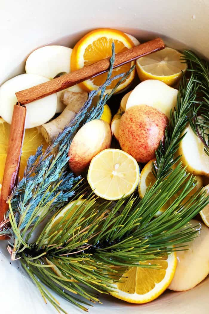 Homey Stove-top Yuletide Potpourri Recipe