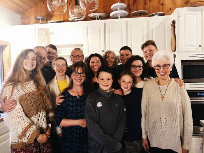 Vegan Sweet Potato Casserole - family