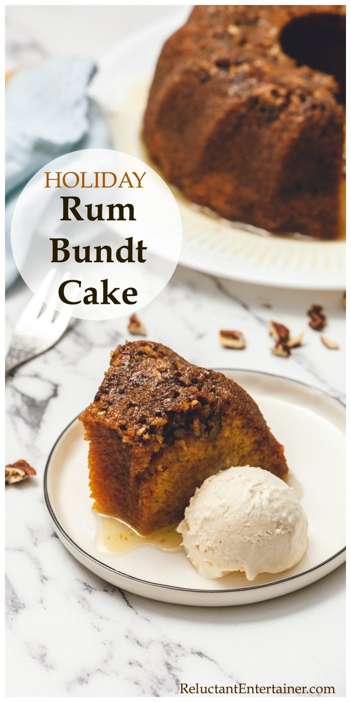 Holiday Rum Bundt Cake