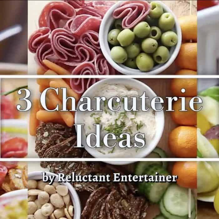 Easy 3 Charcuterie Ideas for Hosting for the weekend