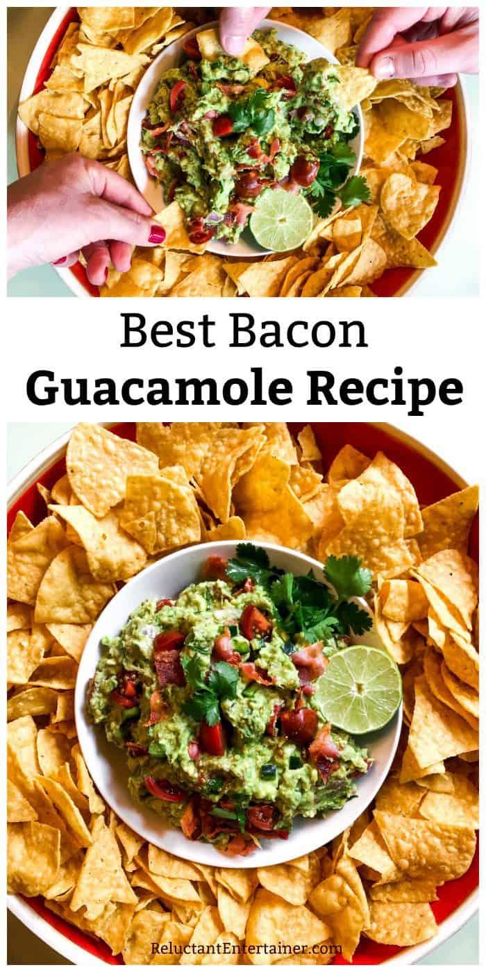 Best Bacon Guacamole