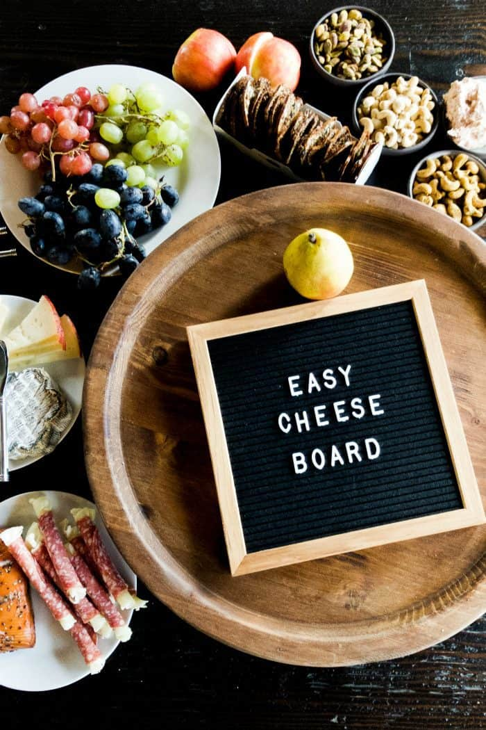 Easy Cheese Board Recipe - how to