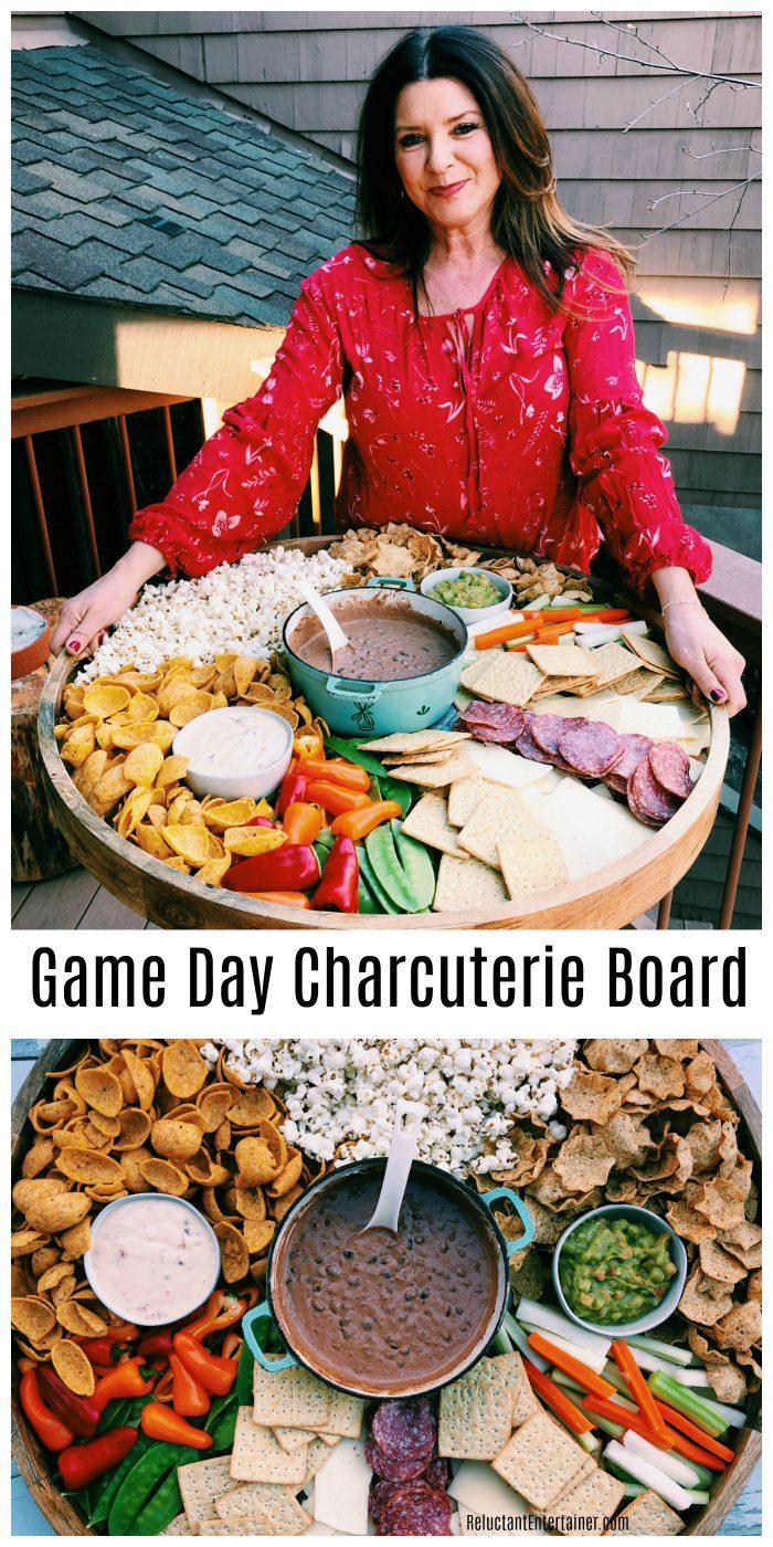 Game Day Charcuterie Board Recipe
