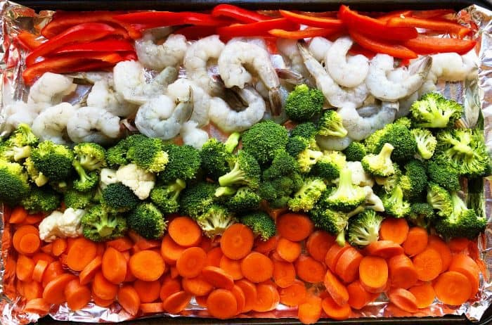 Shrimp Sheet Pan Dinner