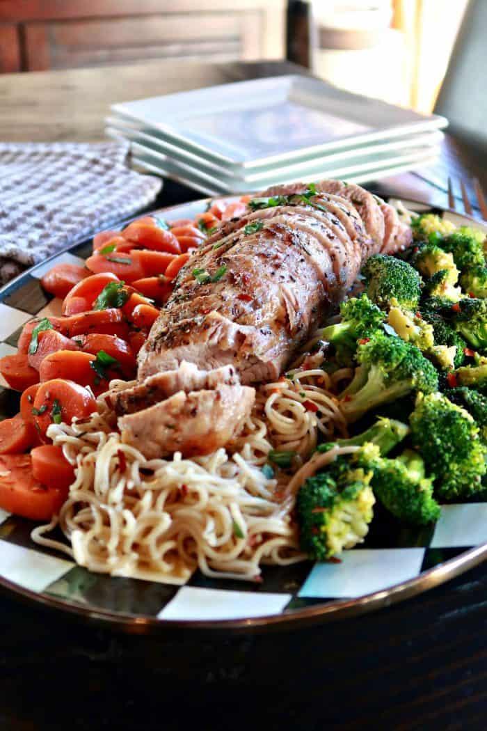 Roasted Rosemary Pork Tenderloin Recipe