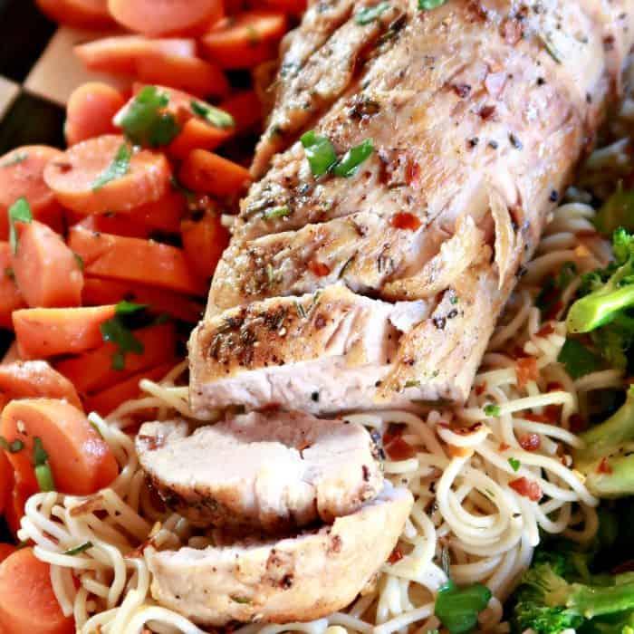 Best Roasted Rosemary Pork Tenderloin