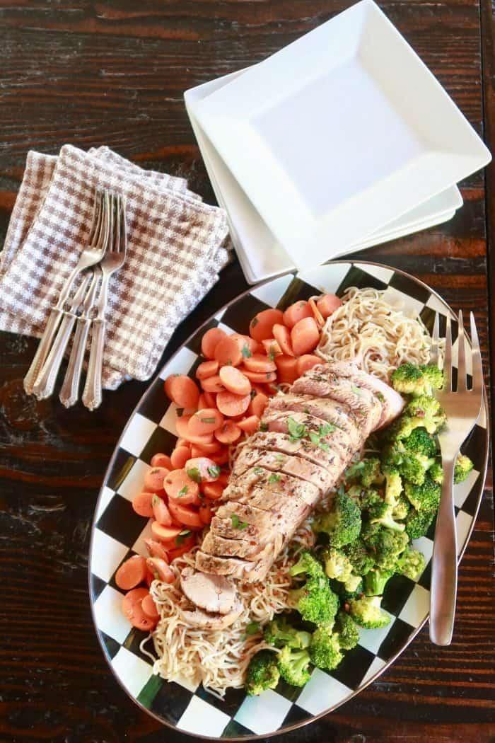 Best Roasted Rosemary Pork Tenderloin Recipe