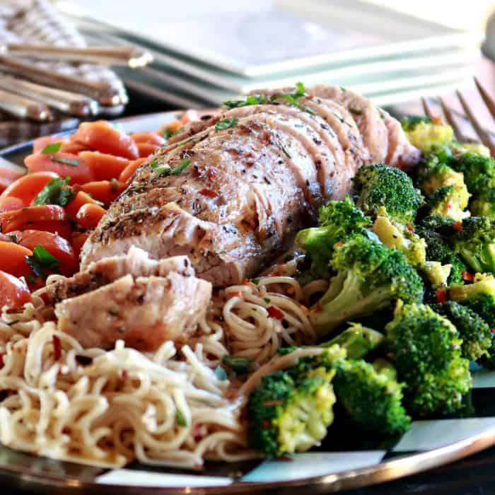 Easy Roasted Rosemary Pork Tenderloin Recipe