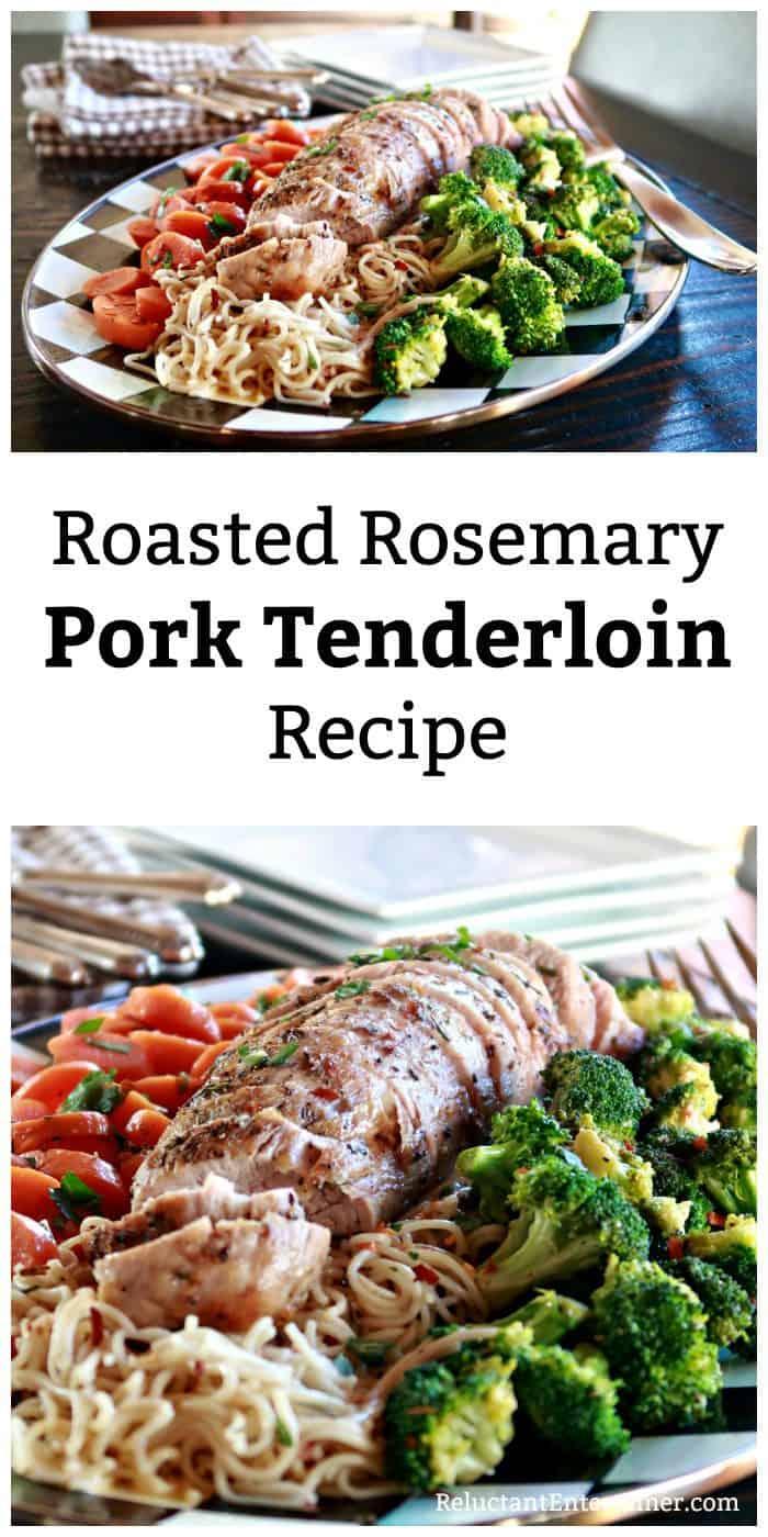 Roasted Rosemary Pork Tenderloin