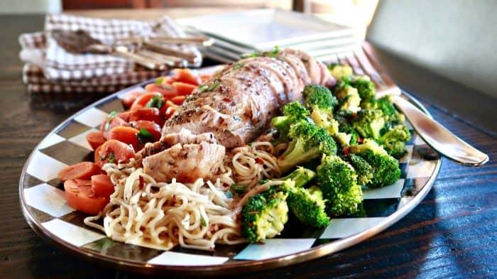 Easy Roasted Rosemary Pork Tenderloin