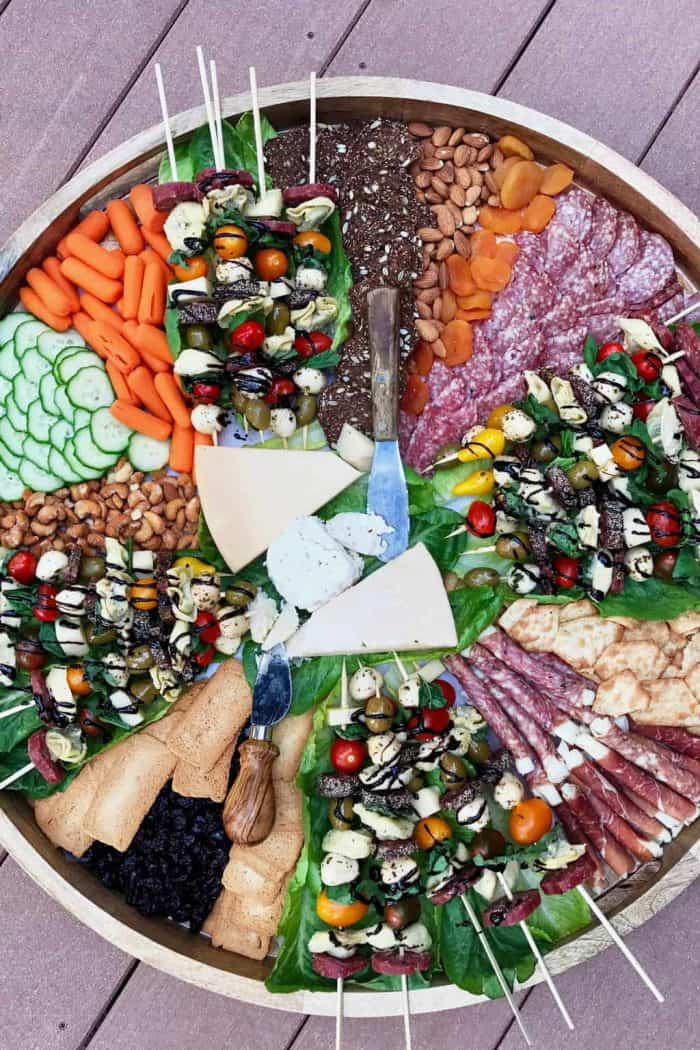 Easy 3 Charcuterie Ideas for Hosting - skewers