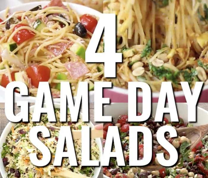 4 Game Day Salads to Serve a Crowd