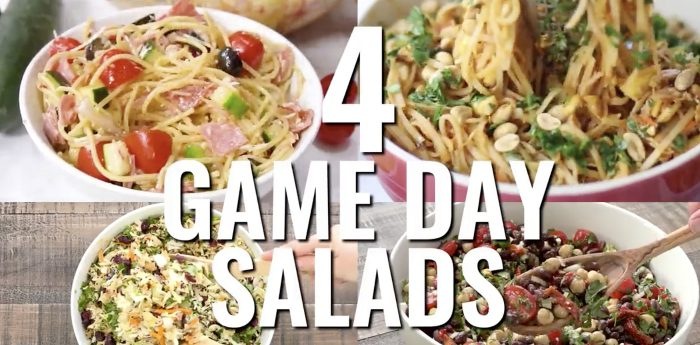 4 Game Day Salads to Serve