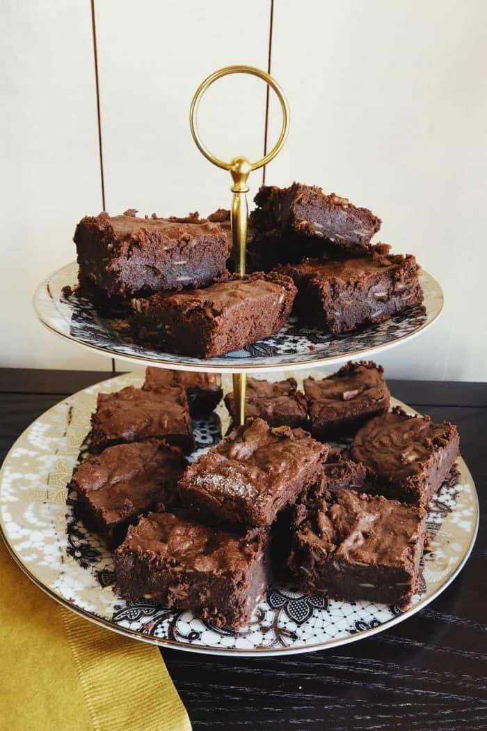 4 BEST Chocolate Desserts - Almond Flour Brownies