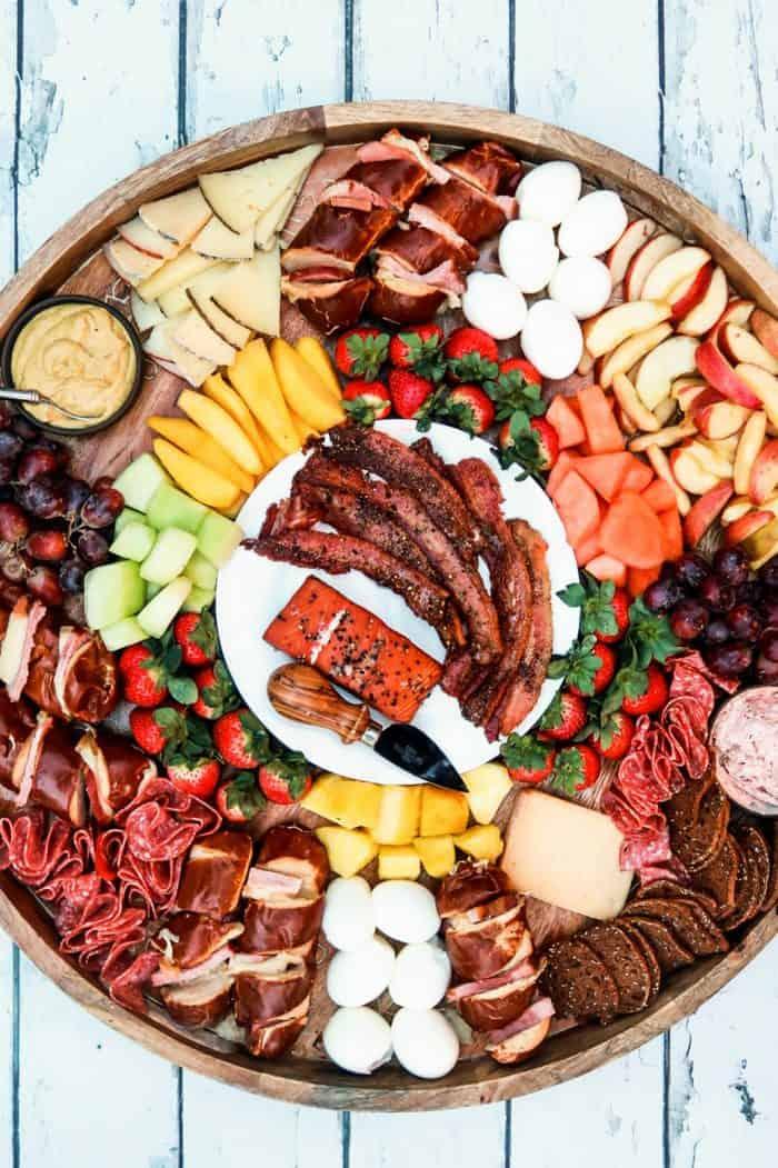beautiful bacon breakfast board