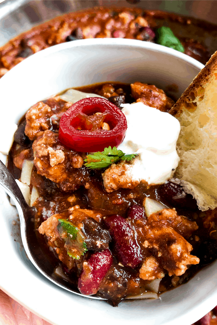 Tasty Homemade Chili recipe