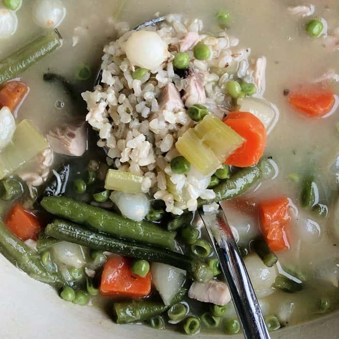 BEST Homemade Turkey Soup