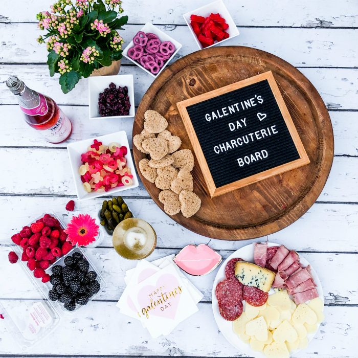 Host a Galentine's Day Charcuterie Board