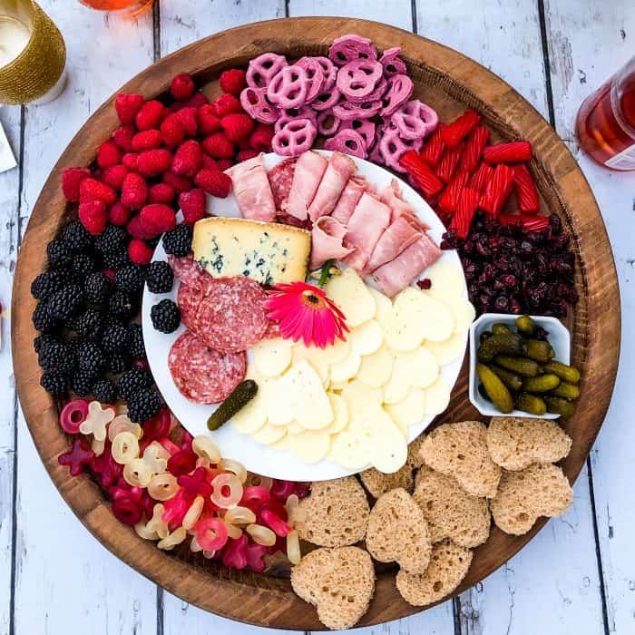 EASY Galentine's Day Charcuterie Board