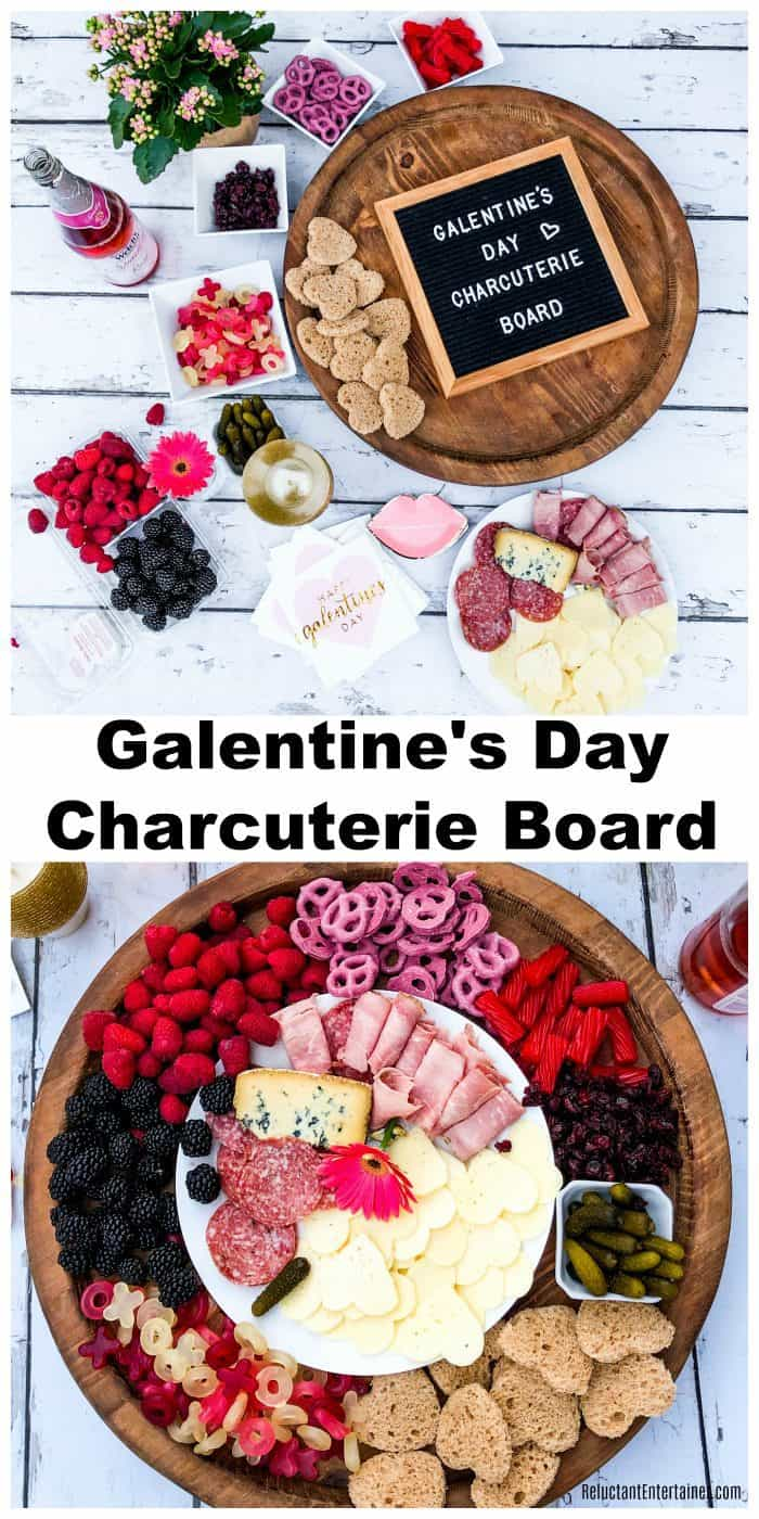 Galentine's Day Charcuterie Board Shopping List
