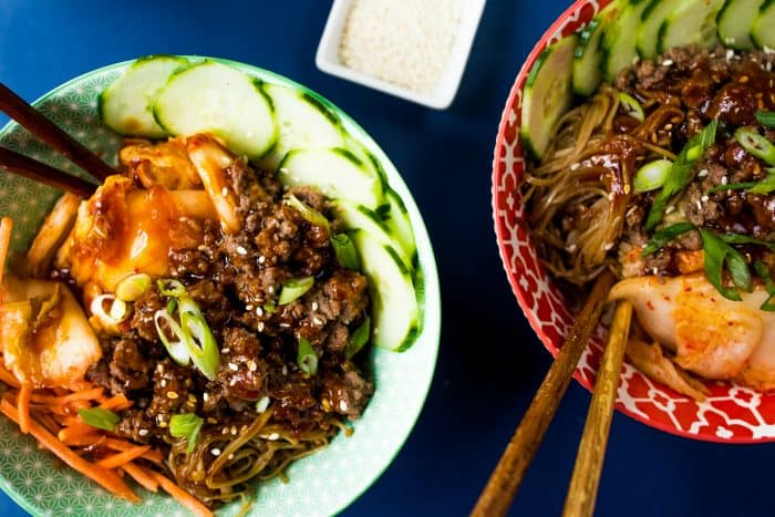 Delicious Healthy Korean Beef Bowls