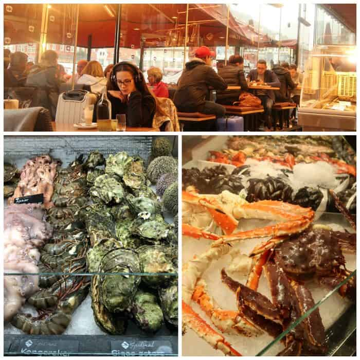 Homelands Viking Cruise Excursions Norway - Bergen fish market