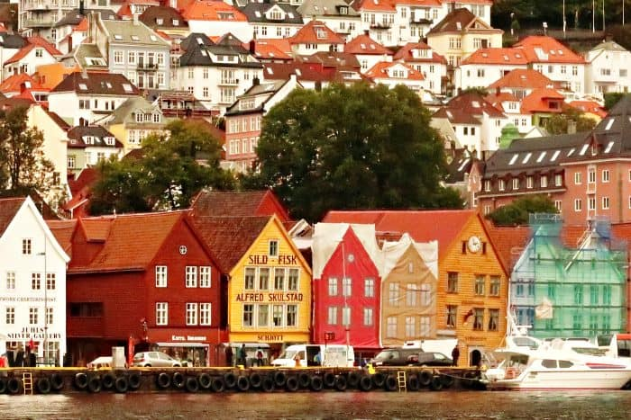 Homelands Viking Cruise Excursions Norway - Bergen waterfront