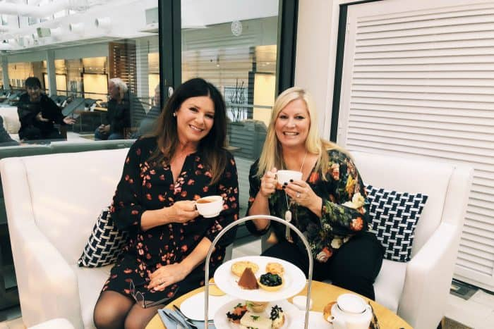 Homelands Viking Cruise Excursions Norway - tea with RecipeGirl
