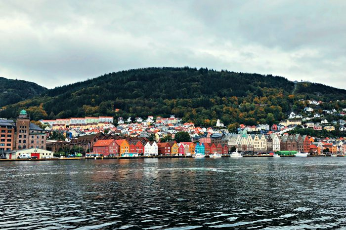 Homelands Viking Cruise Excursions Norway - colorful buildings