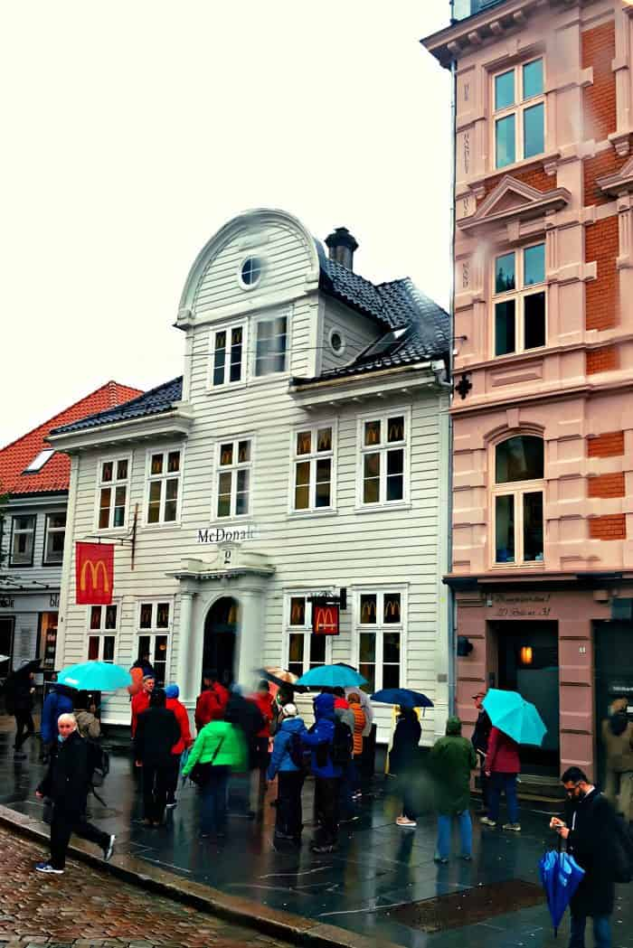 Homelands Viking Cruise Excursions Norway - McDonald's