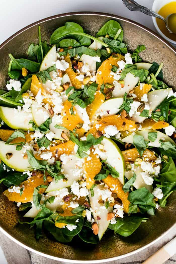 Irish Spinach Salad Recipe