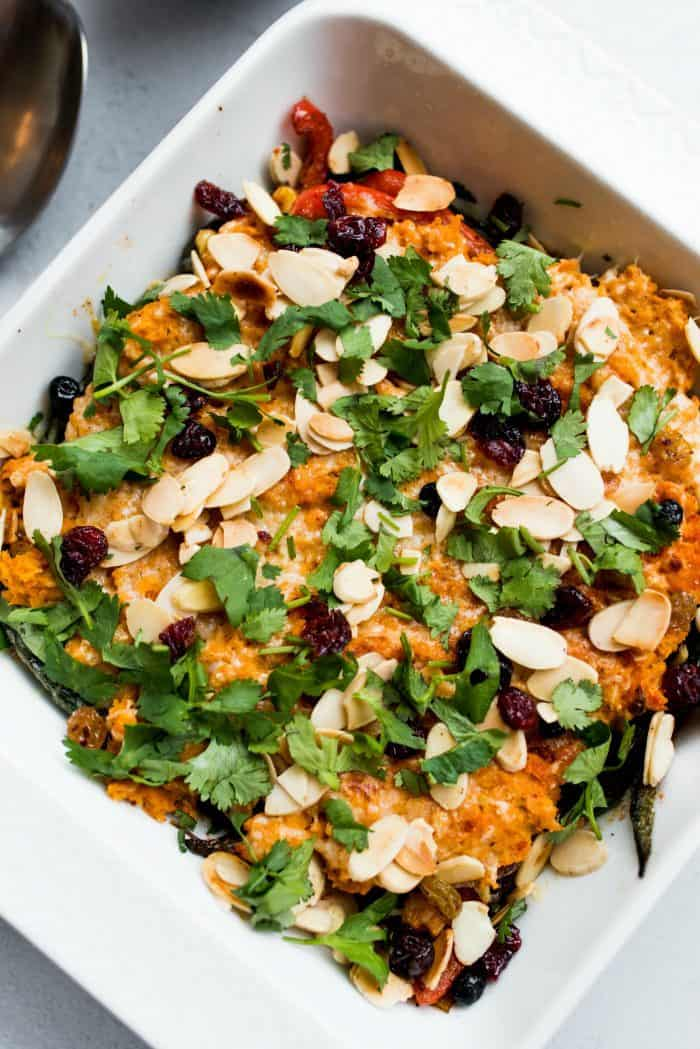 Healthy Mexican Sweet Potato Casserole