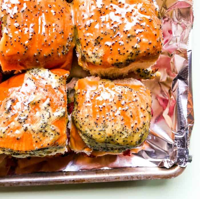 Easy Trader Joe's Cheesy Irish Sliders