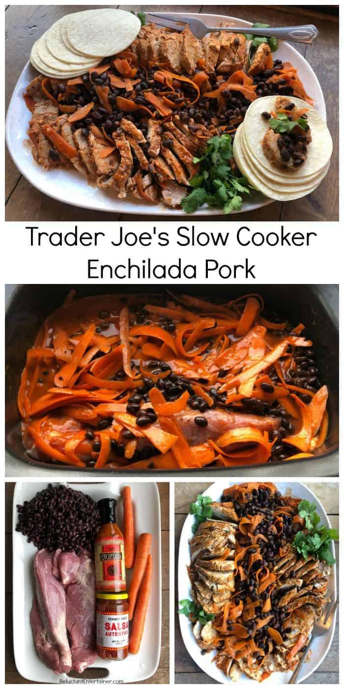 Trader Joe's Slow Cooker Enchilada Pork Recipe