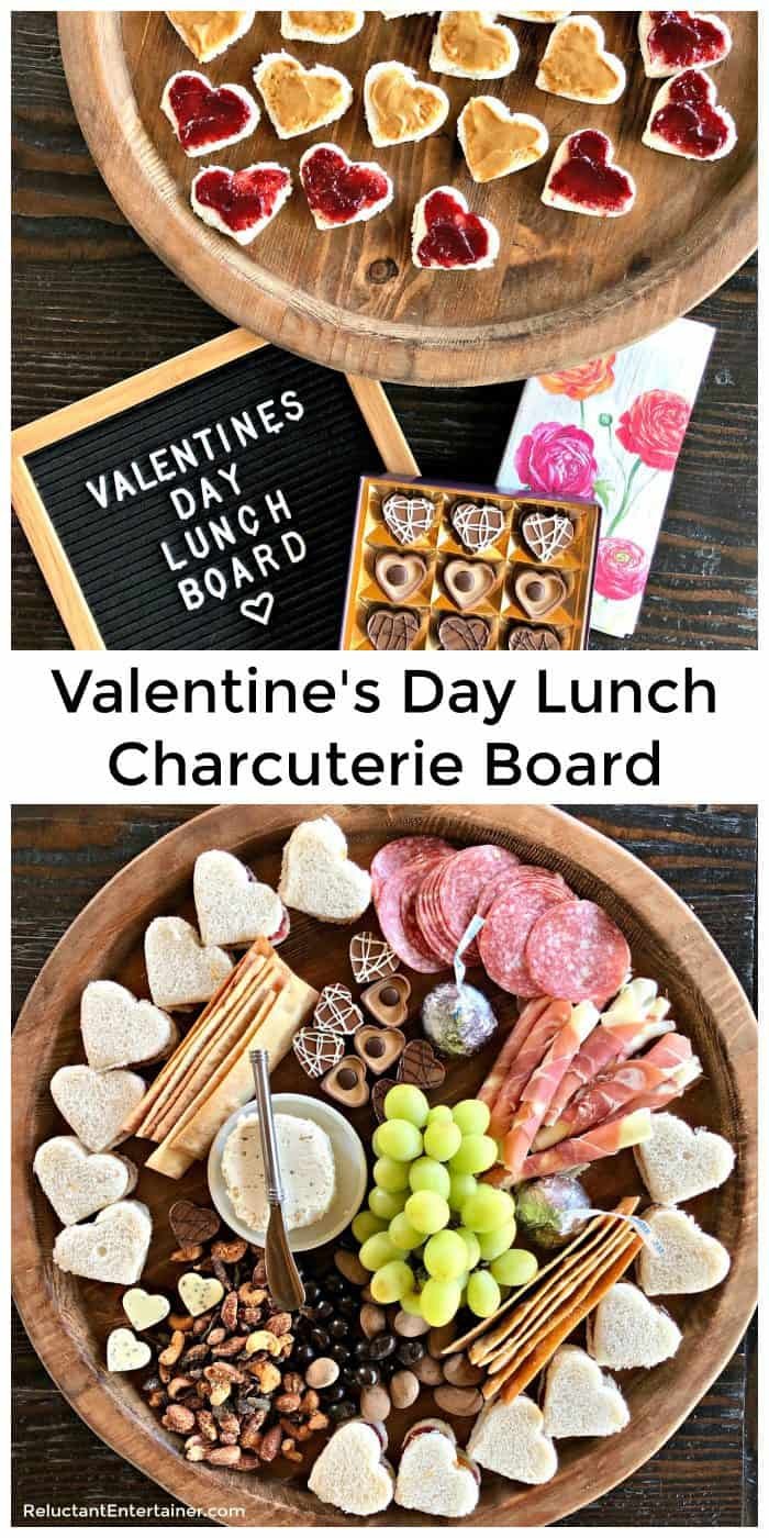 Valentine's Day Lunch Charcuterie Board Recipe