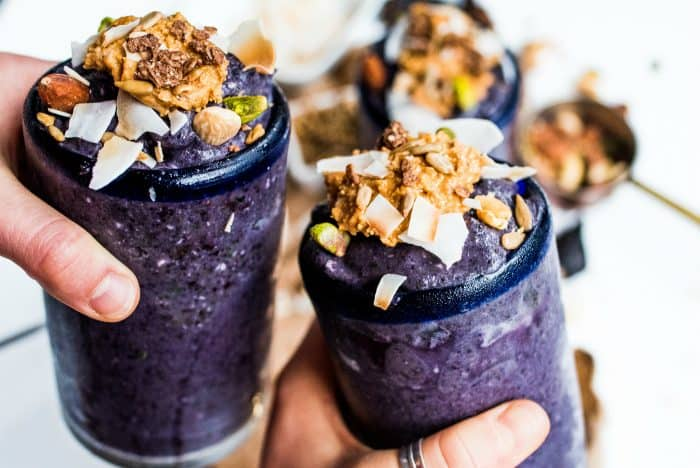 Best Blueberry Cardamom Vanilla Smoothie Recipe